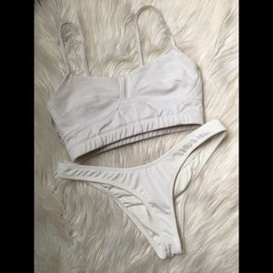 Coulbourne White Bikini Set